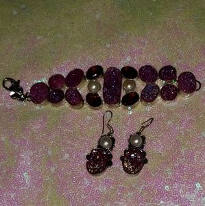 Accessories - Bracelet & Earrings Set